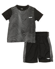 Sets - 2Pc Printed Cut & Sew Top & Shorts Set (4-7)-2350784