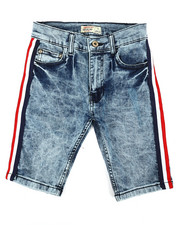 SMITH'S AMERICAN - Side Stripe Denim Shorts (8-20)-2355248