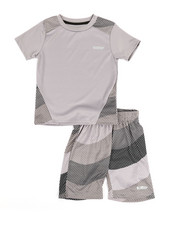 Sets - 2Pc Printed Cut & Sew Top & Shorts Set (4-7)-2350953