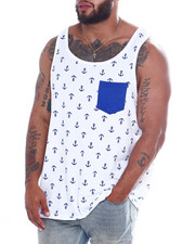 Tanks - Mens Printed Tops (B&T)-2355951