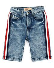 SMITH'S AMERICAN - Side Stripe Denim Shorts (4-7)-2355243