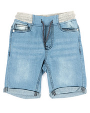 SMITH'S AMERICAN - Roll Up Hem Denim Shorts (4-7)-2355088