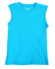 Tops - Solid Muscle T-Shirt (8-20)-2355689