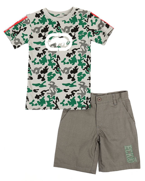 Ecko - 2Pc Tee & Shorts Set (4-7)