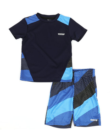 HIND - 2Pc Printed Cut & Sew Top & Shorts Set (4-7)