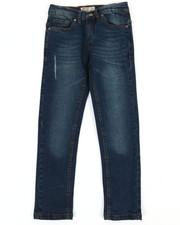 SMITH'S AMERICAN - Dk Blue Denim Jeans W/ Distressed Detail (8-20)-2355161
