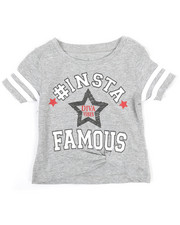 Girls - Top w/ Knotted Hem (2T-4T)-2349673