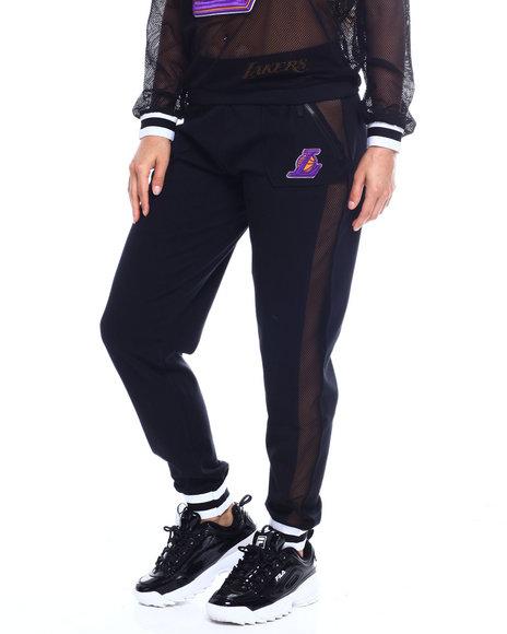 NBA MLB NFL Gear - Lakers Interlock & Mesh Jogger
