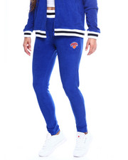 Women - Knicks Loops Out Terry Cloth Zip Ankle Jogger-2355758