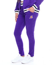 Women - Lakers Loops Out Terry Cloth Zip Ankle Jogger-2355748