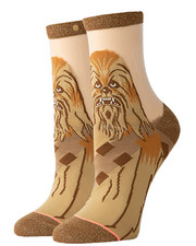 Accessories - Chewbacca Monofilament Anklet Socks-2356502