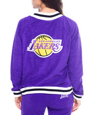 Outerwear - Lakers Loops Out Terry Cloth Jacket-2355733