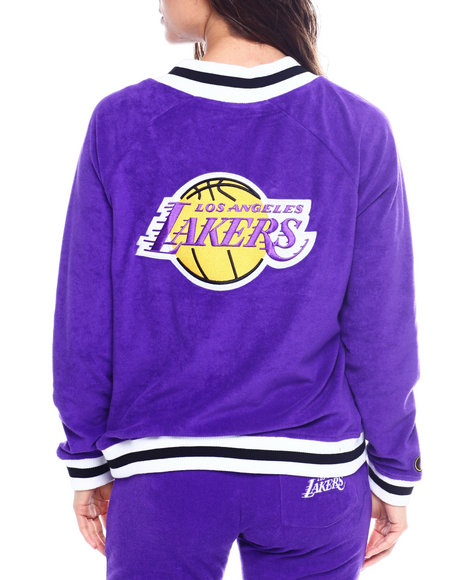 Fisll - Lakers Loops Out Terry Cloth Jacket