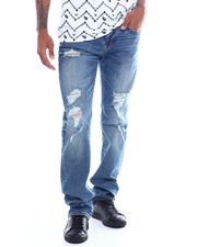 True Religion - RICKY FLAP  LIGHT PASSAGE WORN Jean-2356518