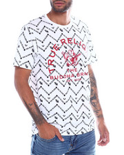 True Religion - NATIVE MONOGRAM SS Tee-2356480