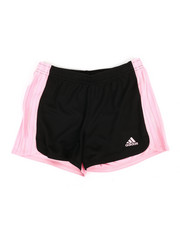 Girls - Three Striped Blocked Shorts (7-16)-2345822