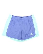 Girls - Three Striped Blocked Shorts (7-16)-2345827