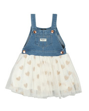 Dresses - Denim & Tulle Skirtall (2T-4T)-2350484
