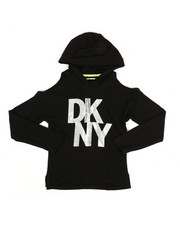 Girls - Hooded Top W/ Cold Shoulders (7-16)-2347219