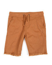 Buffalo - Twill Shorts W/ Raw Edge Hem (4-7)-2351386