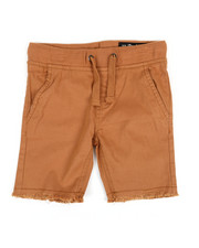 Buffalo - Twill Shorts W/ Raw Edge Hem (2T-4T)-2351382