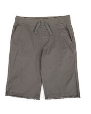 Buffalo - Twill Shorts W/ Raw Edge Hem (8-20)-2351377