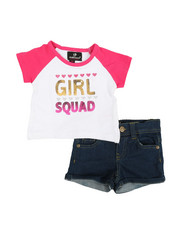 Dollhouse - 2 Pc Tee & Shorts Set (Infant)-2348604
