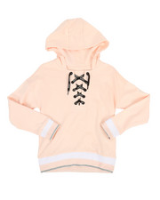 Girls - Lace-Up Hoodie (7-16)-2347170