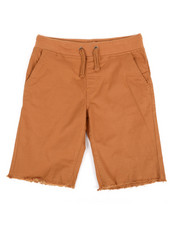 Buffalo - Twill Shorts W/ Raw Edge Hem (8-20)-2351391