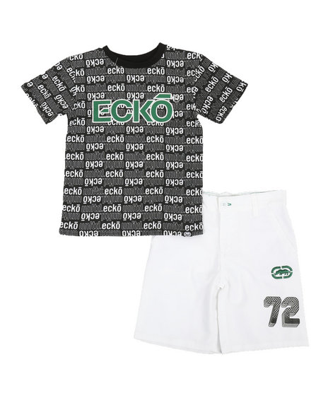 Ecko - 2Pc Tee & Shorts Set (4-7)