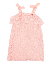 Dresses - Lace Shift Dress (4-6X)-2350513