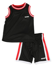 HIND - 2Pc Muscle Top & Shorts Set (2T-4T)-2351026