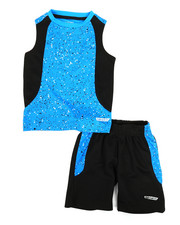 HIND - 2Pc Graphic Muscle Top & Shorts Set (2T-4T)-2350764