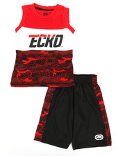 Ecko - 2Pc Muscle Top & Shorts Set (4-7)-2350731