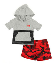 Sets - 2Pc Hooded Tee & Shorts Set (Infant)-2350723