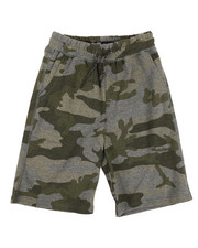 Brooklyn Cloth - Printed Camo Jogger Shorts (8-20)-2356108