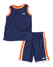HIND - 2Pc Muscle Top & Shorts Set (4-7)-2350748