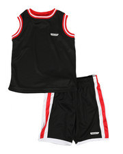 HIND - 2Pc Muscle Top & Shorts Set (4-7)-2350752