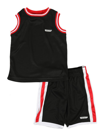 HIND - 2Pc Muscle Top & Shorts Set (4-7)
