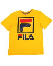 Fila - Stacked Logo Tee (8-20)-2355868