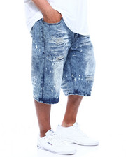 Akademiks - Pyramid 5 Pocket Denim Short (B&T)-2357664