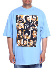 Big & Tall - S/S Black History Heroes Graphic Tee (B&T)-2357643