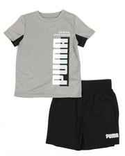 Puma - Performance Tee & Shorts Set (2T-4T)-2337452