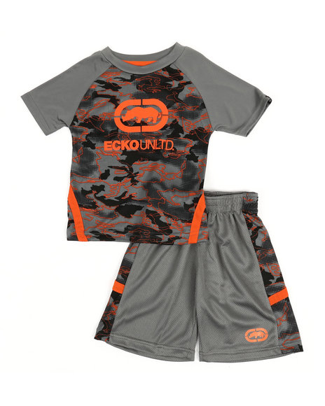 Ecko - 2Pc Tee & Shorts Set (2T-4T)