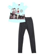 La Galleria - Fashion Top & Legging Set (4-6X)-2345861