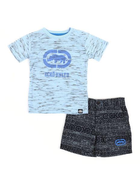 Ecko - 2Pc Tee & Shorts Set (2T-4T)