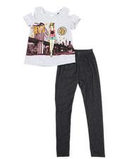 La Galleria - Fashion Top & Legging Set (4-6X)-2345869