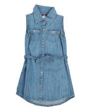 Dresses - Denim Dress (4-6X)-2355848