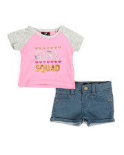 Dollhouse - 2 Pc Tee & Shorts Set (Infant)-2348600