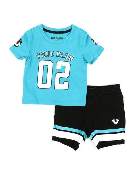 True Religion - 2 Piece Tee & Knit Shorts Set (Infant)